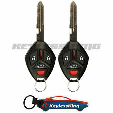 2 Replacement for 2006-2007 Mitsubishi Eclipse Key Fob Keyless Entry Car Remote