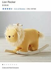Lion Rocker From Land Of Nod Crate and Kids