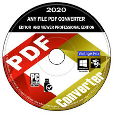 PDF Editor Converter Viewer - Save Edit Open Convert Professional Edition PC DVD