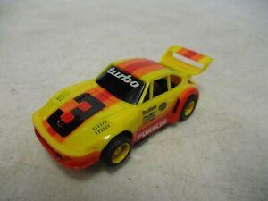 Tyco Porsche Turbo #3 HO Scale Slot Car