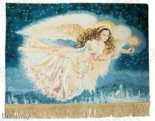 Tapestry Wall Hanging Guiding Angel View Cotton Dona Gelsinger Finished Backed