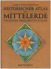 Historischer Atlas von Mittelerde Karen Wynn Fonstad 6. AUFLAGE Book
