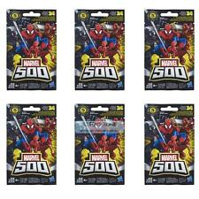 Marvel 500 Avengers Figures Toy Blind Bag x6 Collection Toys for Kids Series 5