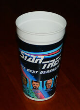 Star Trek The Next Generation Pepsi & Paramount Pictures Plastic Cup 1989