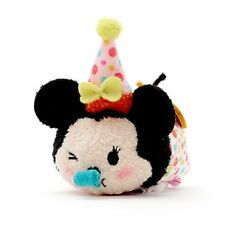 DISNEY STORE MINI PELUCHE TSUM TSUM SMALL PLUSH  MINNIE MOUSE 2018 NEUF