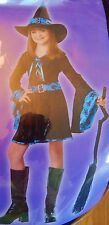 Totally Ghoul Groovy Witch Girl's Costume Size L