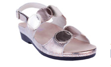 Helle Comfort Tula Gold Multi Slingback Sandal Women's sizes 37-41 NEW!!!