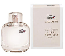 Lacoste Eau De Lacoste L.12.12 Pour Elle Elegant by Lacoste EDT Spray 3 oz/90 ml