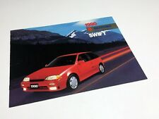 1990 Suzuki Swift GT Brochure
