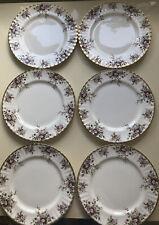 More details for royal albert cottage garden 1970 x 6 bone china dinner plates vgc