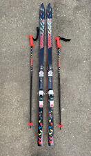 "K2 Extreme 8.3 Skis 190 cm Matching 50"" poles Marker M48 Bindings  Neon"