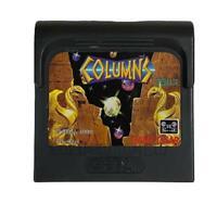 COLUMNS w/ CASE GAME GEAR GG SEGA JAPANESE GAME CARTRIDGE