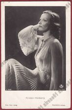 KIRSTEN HEIBERG 06b ATTRICE ACTRESS CANTANTE CINEMA MOVIE - NORGE Cartolina FOT.