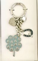 MICHAEL Michael Kors Lucky Charms Four-Leaf Clover Key Fob/ Key Chain