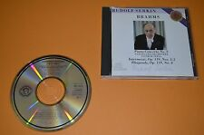 Rudolf Serkin-Piano Concerto No. 2/Brahms/CBS 1987/Made in Japan/RAR
