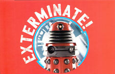 (P129x) Postcard Dr Who Red Daleks are the Drones of the New Dalek Paridigm
