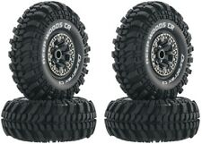 "NEW Duratrax Rock Crawler Deep Woods CR C3 2.2"" Mounted Tire / Wheel Set (4) ..."
