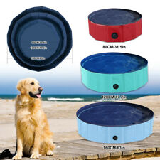 Piscina para Perros Piscina Su Hora De Baño Φ80 / Φ120 / Φ160cm Plástico DHL