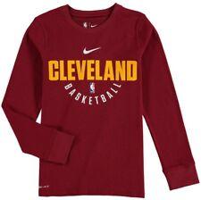 Nike Cleveland Cavaliers NBA Dri-Fit Long Sleeve T Shirt XL NEW