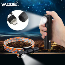Zoom Rechargerable 1000LM T6 LED Headlight Torch 3Modes Flashlight Hunting Light