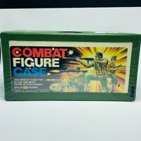 Action figure collectors case Gi joe combat Tara toy vintage 1980s holds 24 vtg