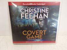 (F) COVERT GAME by CHRISTINE FEEHAN ~UNABRIDGED CD AUDIOBOOK