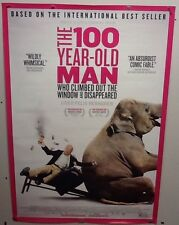 Original Movie Poster For the 100 Year Old Man  Double Sided 27x40