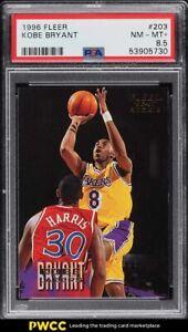 1996 Fleer Basketball Kobe Bryant ROOKIE RC #203 PSA 8.5 NM-MT+