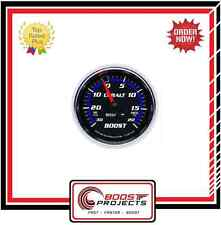 AutoMeter 30 IN HG/20 PSI Cobalt Analog Boost/Vacuum Gauge * 6107 *