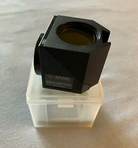 Olympus Microscope Fluorescence Filter Cube U-MWB