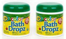 Bath Dropz 3.59 Oz 60 Tabletas (Paquete De 2)