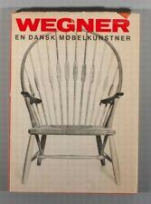 Rare Wegner En Dansk Møbelkunstner Hans Wegner furniture