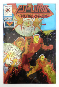 PSI-LORDS #1 Chromium Foil Cover Reign of the Starwatchers  (1994) Valiant