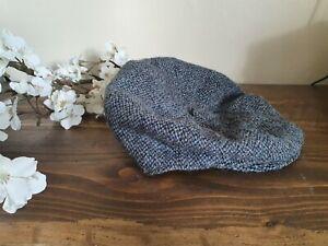 Vintage Harris Tweed Flat Cap Medium Peaky Blinders