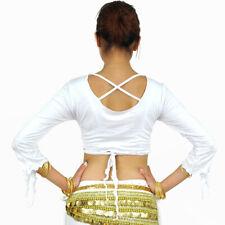 C91606 belly opaca, danza vientre disfraz top bolero belly Dance