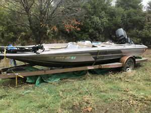 1984 Skeeter Bass Pro Mercury Outboard Trailer  Chico, CA | No Fees & No Reserve