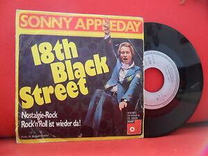 SONNY APPLEDAY 18Th Black Street / Nostalgie Rock 7/45 RARE 75' POP FREAKBEAT