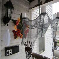 Halloween gruselige Gaze große Gitter Garn Stoff Tür Haus Dekor Party Dekoration