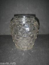 "Fostoria Glass AMERICAN Line 2056 Clear Biscuit Barrel 6½"" Elegant Glassware"