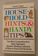 Household Hints and Handy Tips by Reader's Digest Editors (1997, Paperback)