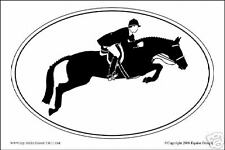 Hunter Decal - Sporthorse Design Euro Oval - NEW