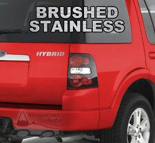 """HYBRID 6"""" X 1"""" VINYL DECAL STICKER - STAINLESS STEEL"""