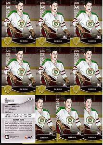 JEAN BELIVEAU 12/13 ITG H&P HOCKEY HERO Lot of (10) #13 Canadiens Quebec Aces