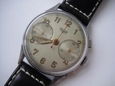 HEUER PRE CARRERA VINTAGE CHRONOGRAPH MANUAL WIND VALJOUX  22