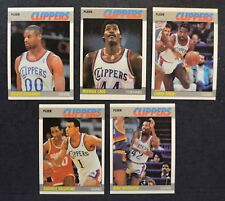 1987-88 Fleer Los Angeles Clippers MINT complete team set lot (5) 1987