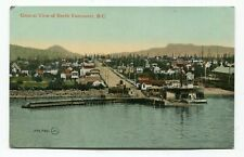 Canada BC British Columbia - Vancouver - View of North Vancouver - Postcard