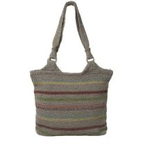 The Sak Voyager Belle Women's Tote Hand Crafted Crochet Hand-bag Purse