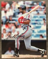 Sandy Alomar Jr. Signed Autographed 8 X 10 Photo Cleveland Indians