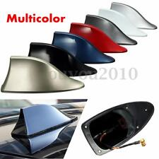 Universal ABS Car Roof Style Shark Fin Shape Antenna Radio Signal Aerials AM/FM