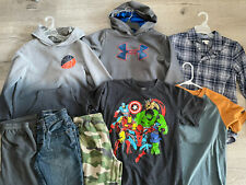 Boys CLOTHING LOT - Winter Spring Outfits Shirts Pants SIZE 8